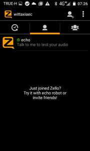 เปลียน Profile zello16
