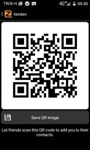 QR code taxiaec